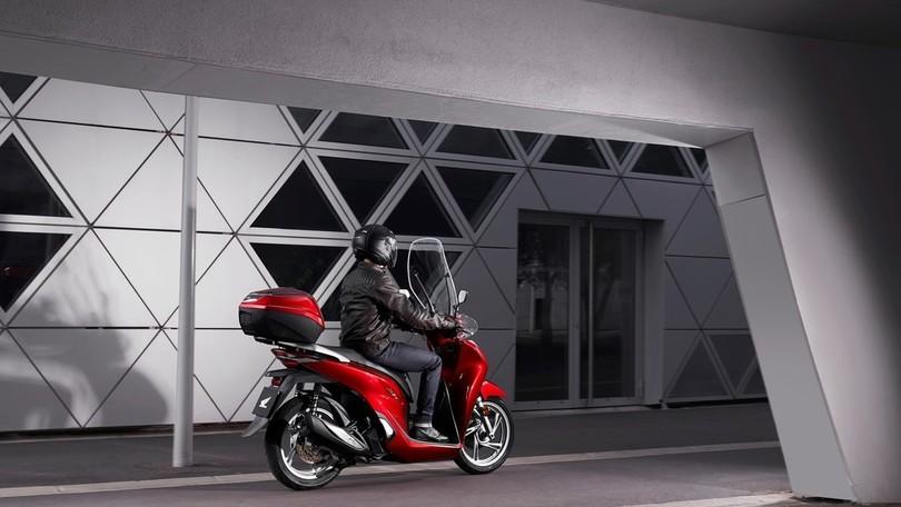 Honda SH 125i e 150i: i prezzi dei nuovi modelli