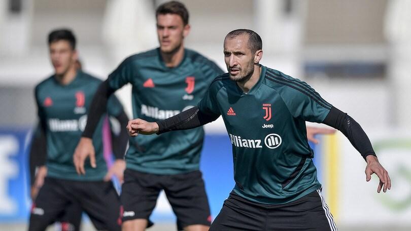 Juve, bianconeri già al lavoro verso l'Inter