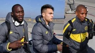L'Inter parte per la Bulgaria: il viaggio dei nerazzurri prima del Ludogorets