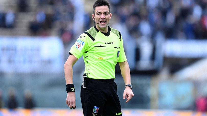 Serie B, arbitri: Benevento-Pescara a Rapuano. Frosinone-Cremonese: Fourneau