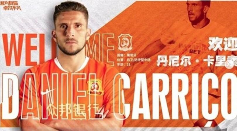 Daniel Carrico non si lascia spaventare dal Coronavirus: va a giocare al Wuhan Zall