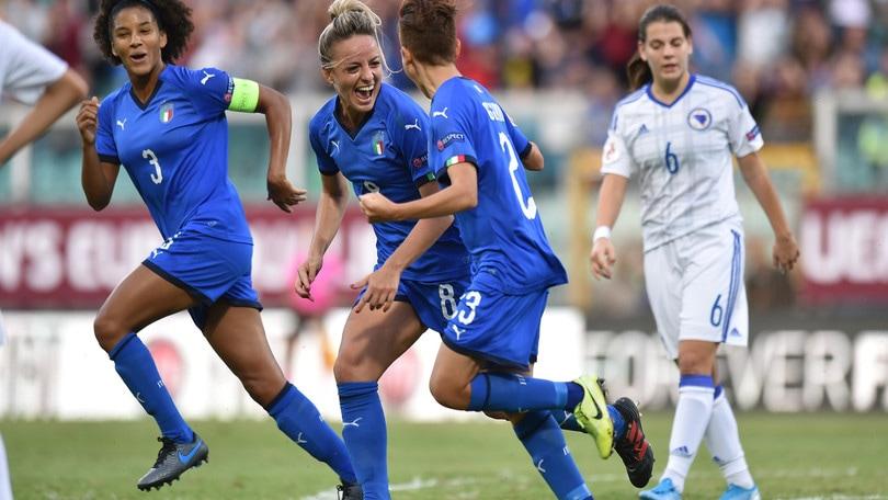 Algarve Cup: tra le convocate da Bertolini conferme per Bartoli e Giugliano