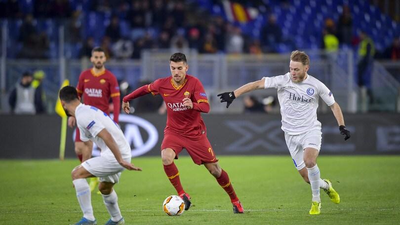 Roma-Gent 1-0, il tabellino