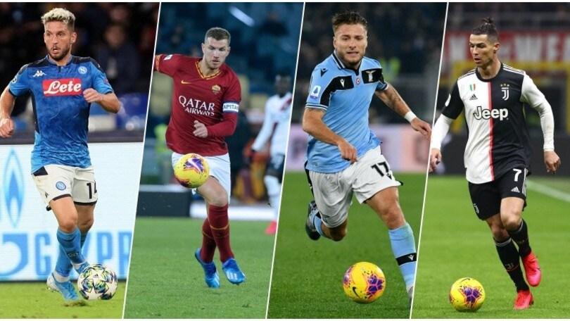 Serie A: tutte le probabili formazioni della 25ª giornata