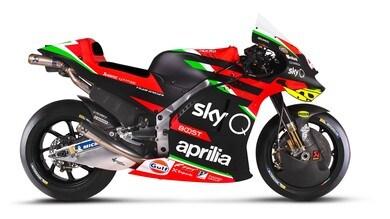 MotoGP: ecco l'Aprilia RS-GP 20 - FOTO