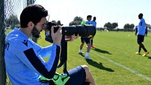 """Lazio, Luis Alberto """"fotografa"""" uno scatenato Inzaghi"""