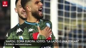 """Napoli, zona Europa. Lotito: """"La Lazio è una Ferrari"""""""