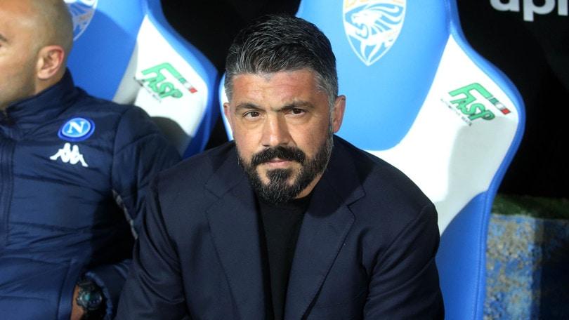 """Gattuso: """"Napoli-Barcellona? Prima di partite così non dormo mai"""""""