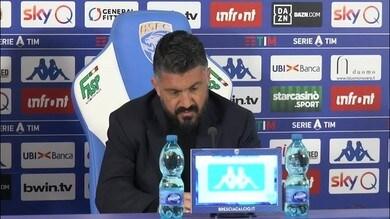 """Gattuso: """"Mi aspettavo un cambiamento, ma non tre vittorie"""""""