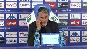 """Lopez: """"Deluso dal risultato"""""""