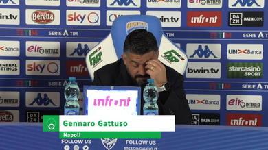 """Gattuso: """"Dopo il gol preso qualcuno insultava e faceva il vigile, che fastidio"""""""