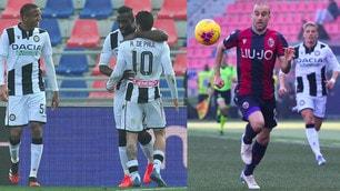 Udinese, Okaka non basta: Palacio regala il pari al Bologna