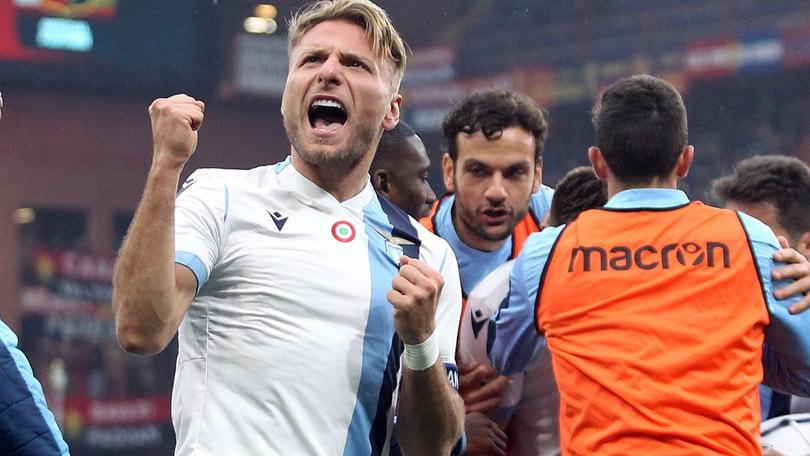 Lazio, Immobile ricco con i gol: altri 100mila euro per quota 30