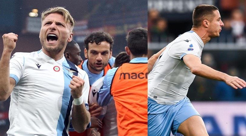 Lazio, cuore e gol: vittoria pure contro il Genoa per 3-2