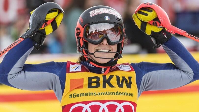 Coppa del Mondo, Brignone vince la combinata e scavalca la Shiffrin