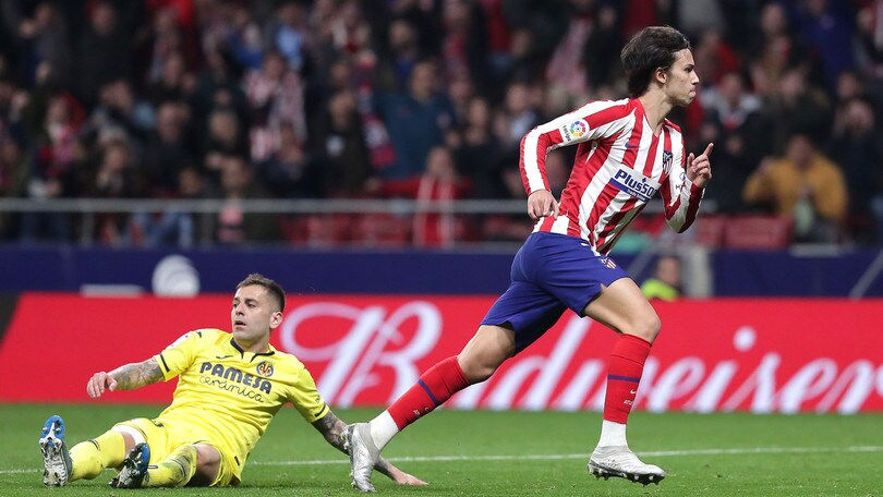 L'Atletico Madrid vince in rimonta: Correa, Koke e Joao Felix ribaltano il Villarreal