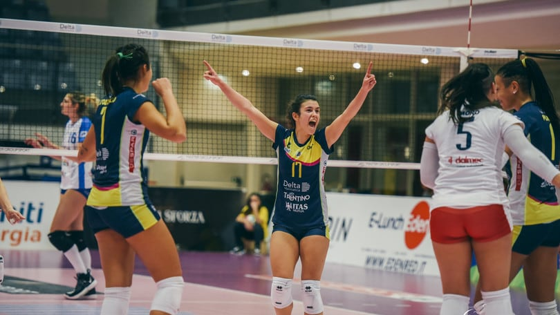 A2 Femminile, Trento vince a Soverato, la Omag torna al successo