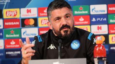 """Napoli, Gattuso: """"Un Barcellona di marziani, ma nel calcio non si sa mai"""""""