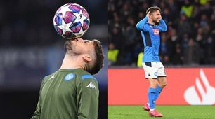 First kisses the ball, then makes 121 as Hamsik: the Mertens evening