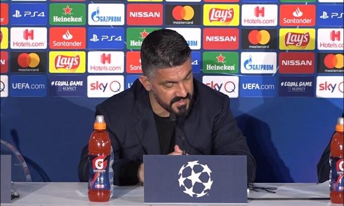 """Gattuso: """"A Barcellona con elemetto e armatura"""""""