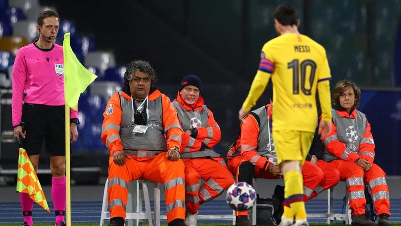 Zero lampi, zero assist: Messi sparisce nella casa di Maradona
