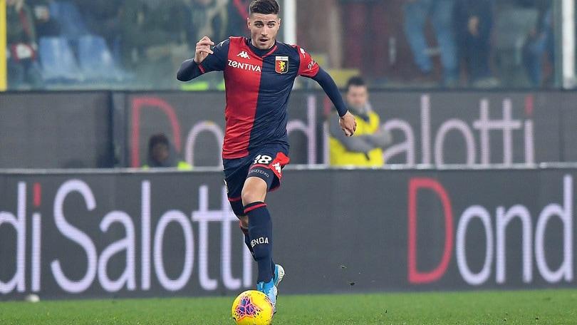 Genoa, Ghiglione riprende l'attività sul campo
