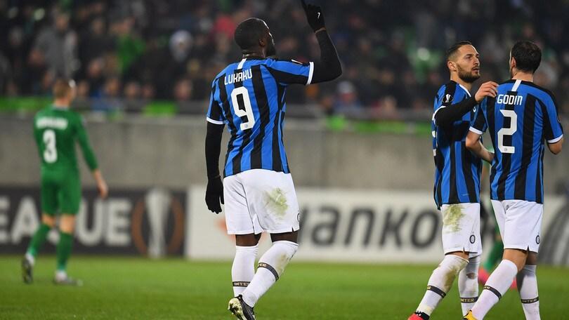 Diretta Inter-Ludogorets ore 21: formazioni ufficiali e come vederla in tv