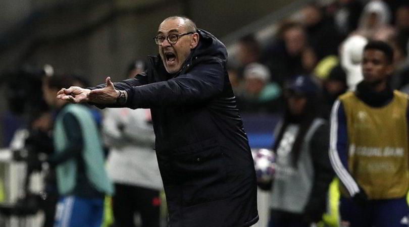"""Juve, Sarri: """"In Italia ci avrebbero dato due rigori"""""""
