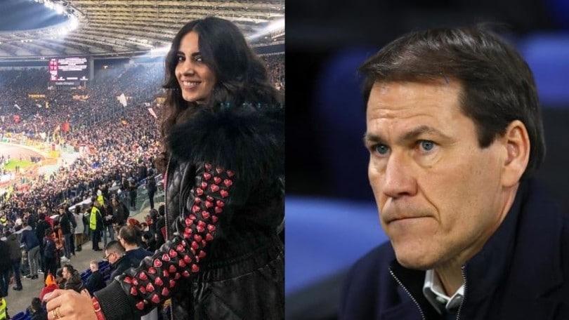 Lione-Juve 1-0, la fidanzata romana di Garcia esulta sui social