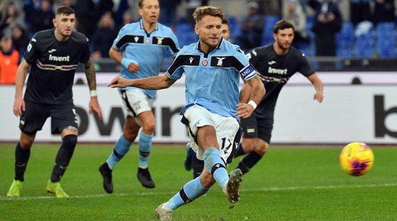 Rigori alla Lazio, ma i punti a Juve e Inter