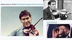Lione-Juve: Garcia batte Sarri e sui social parte l'ironia