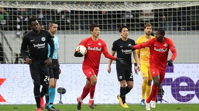 Europa League, rinviata Salisburgo-Eintracht per maltempo