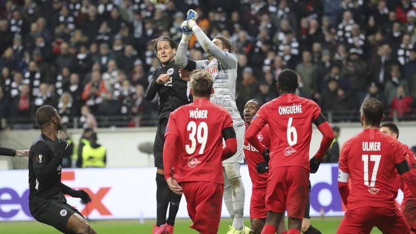 Salisburgo-Eintracht Francoforte rinviata: previste raffiche di vento