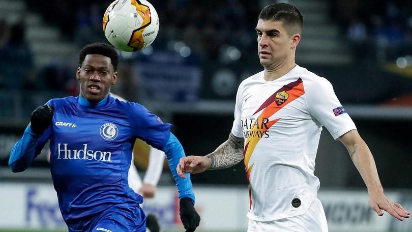 Europa League Gent-Roma 1-1, il tabellino