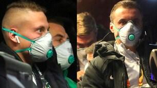 Coronavirus, Ludogorets: mascherine in pullman prima dell'Inter