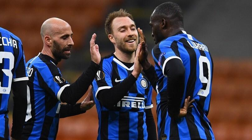 Inter-Ludogorets 2-1: Conte vola agli ottavi di Europa League in un clima surreale