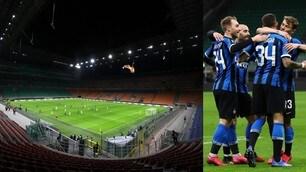 Inter, festa senza tifosi: agli ottavi nel deserto di San Siro