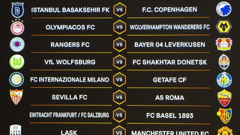 Siviglia-Roma e Inter-Getafe, date e orari degli ottavi di Europa League
