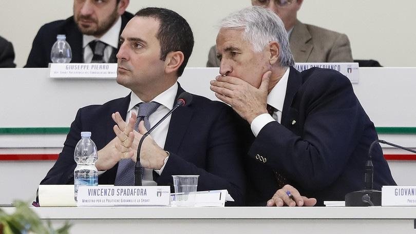 """Spadafora: """"Situazione grave, domani la firma sul decreto per lo sport"""" -  Corriere dello Sport"""