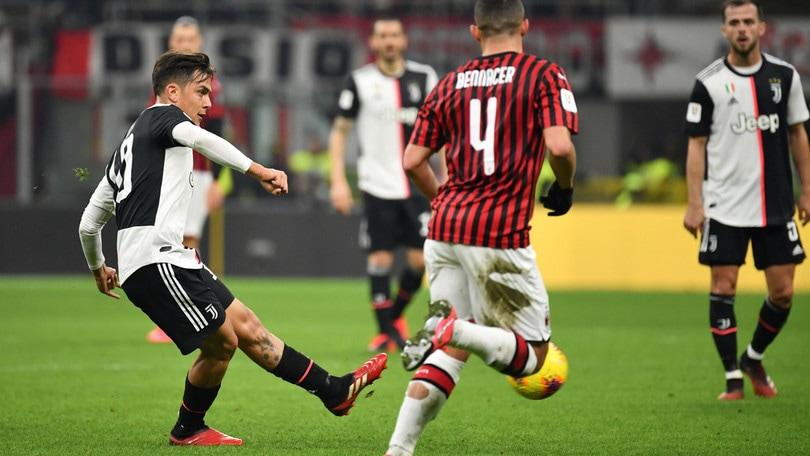 Juve-Milan, divieto d'accesso per i tifosi da 3 regioni