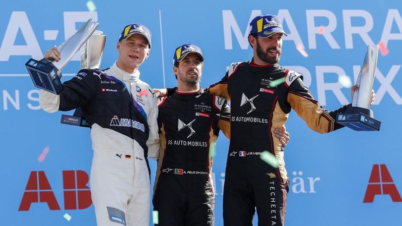 Formula E, ePrix Marocco: Da Costa stravince davanti Guenther e Vergne