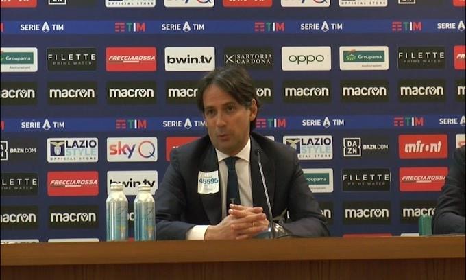 """Inzaghi: """"Siamo primi e dobbiamo difendere la posizione"""""""
