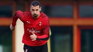 Milan, Ibra carica i suoi per la Juve pure da squalificato