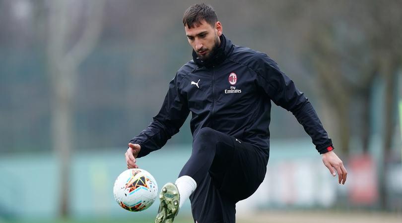 Milan, Donnarumma out contro la Juve in Coppa Italia