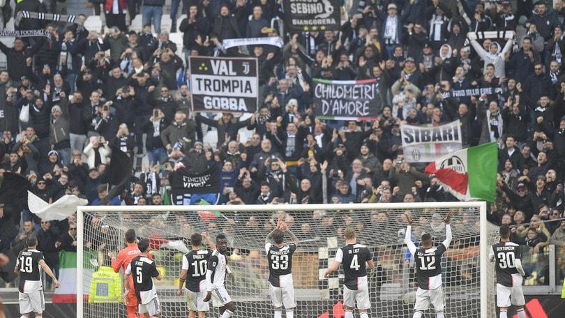 Juve-Milan di Coppa Italia: l'Allianz Stadium sarà aperto ai tifosi