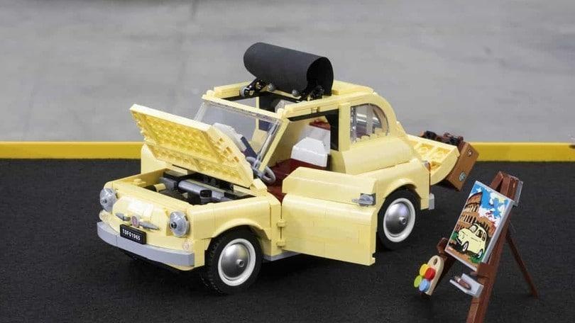 Fiat Lego 500 gialla: il nuovo modellino by Creator Expert