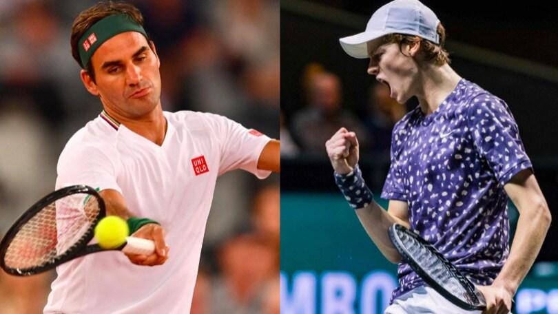 Ranking Atp: Federer fuori dal podio, Sinner recupera quattro posizioni