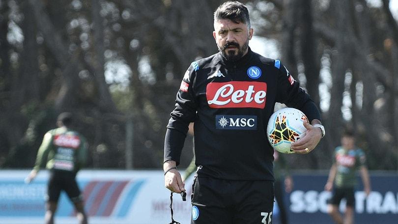 Napoli, arrivederci a mercoledì: Gattuso dà i compiti su whatsapp