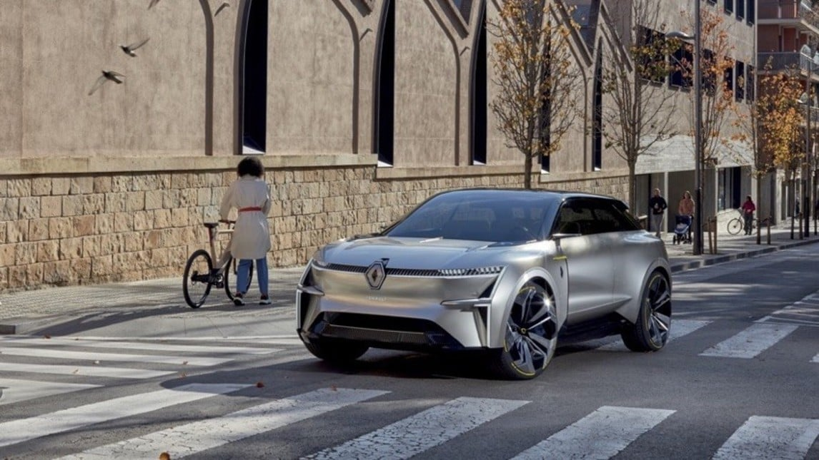 Renault Morphoz Concept: le immagini