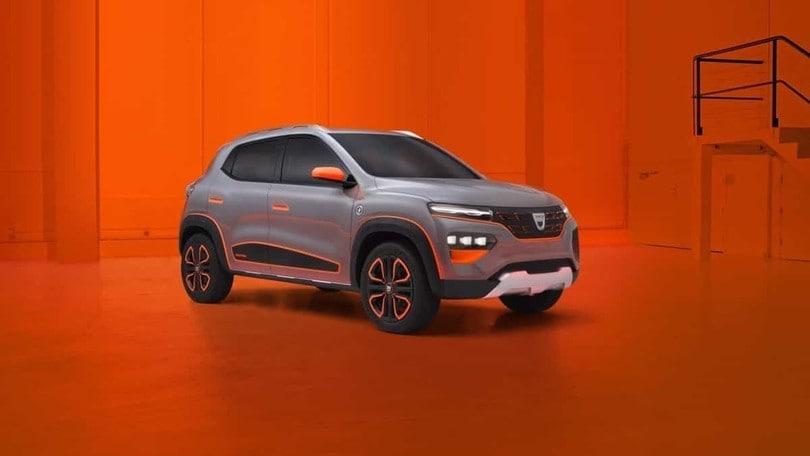 Dacia Spring, il Suv elettrico low cost: uscita prevista nel 2021